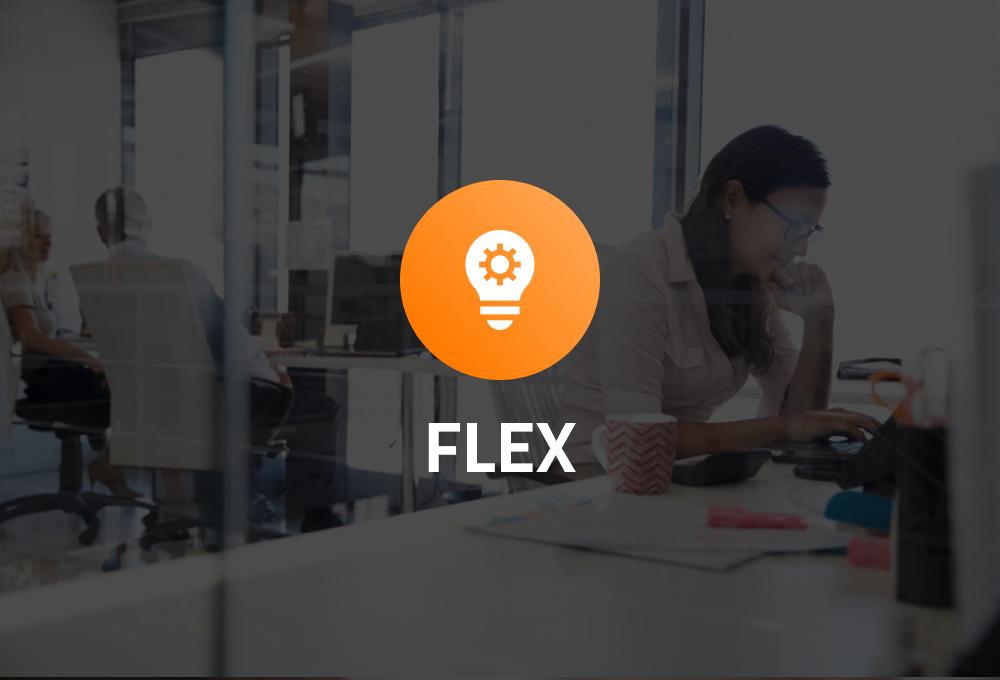 tjänsten flex ikon